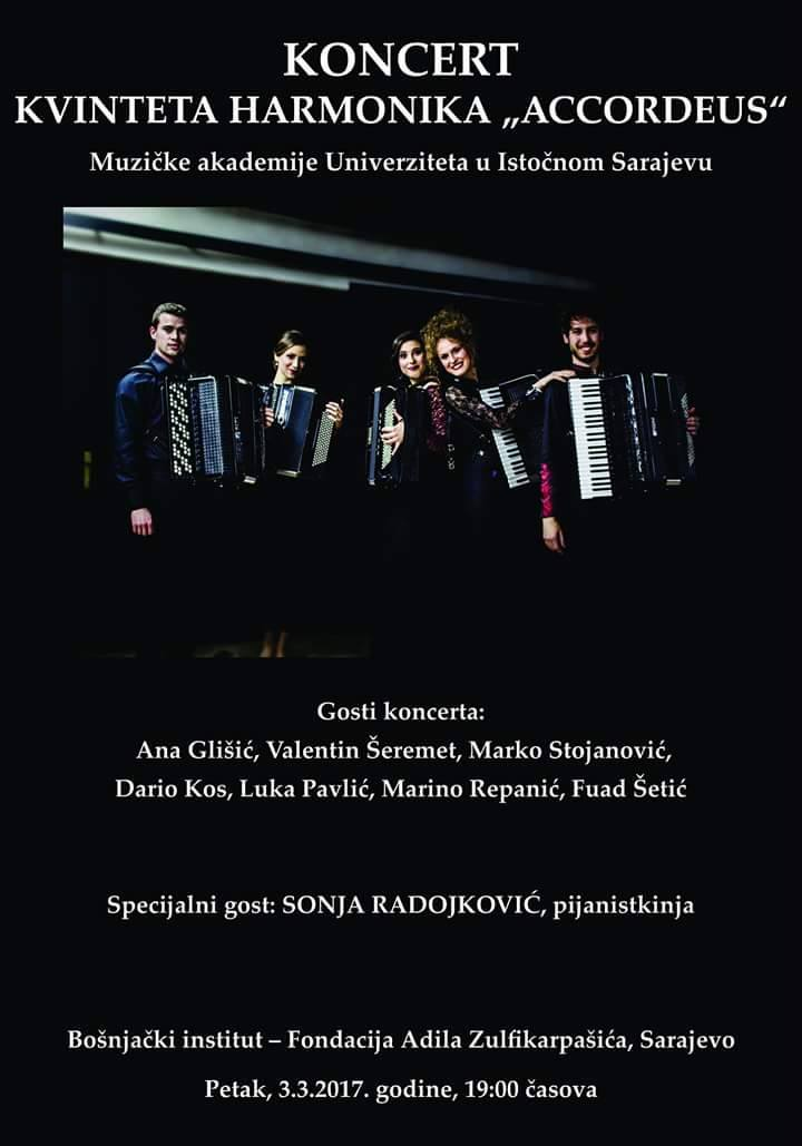 accordeus koncert plakat
