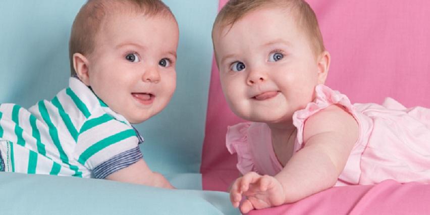blizanci bebe