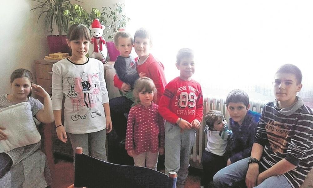desetoro djece