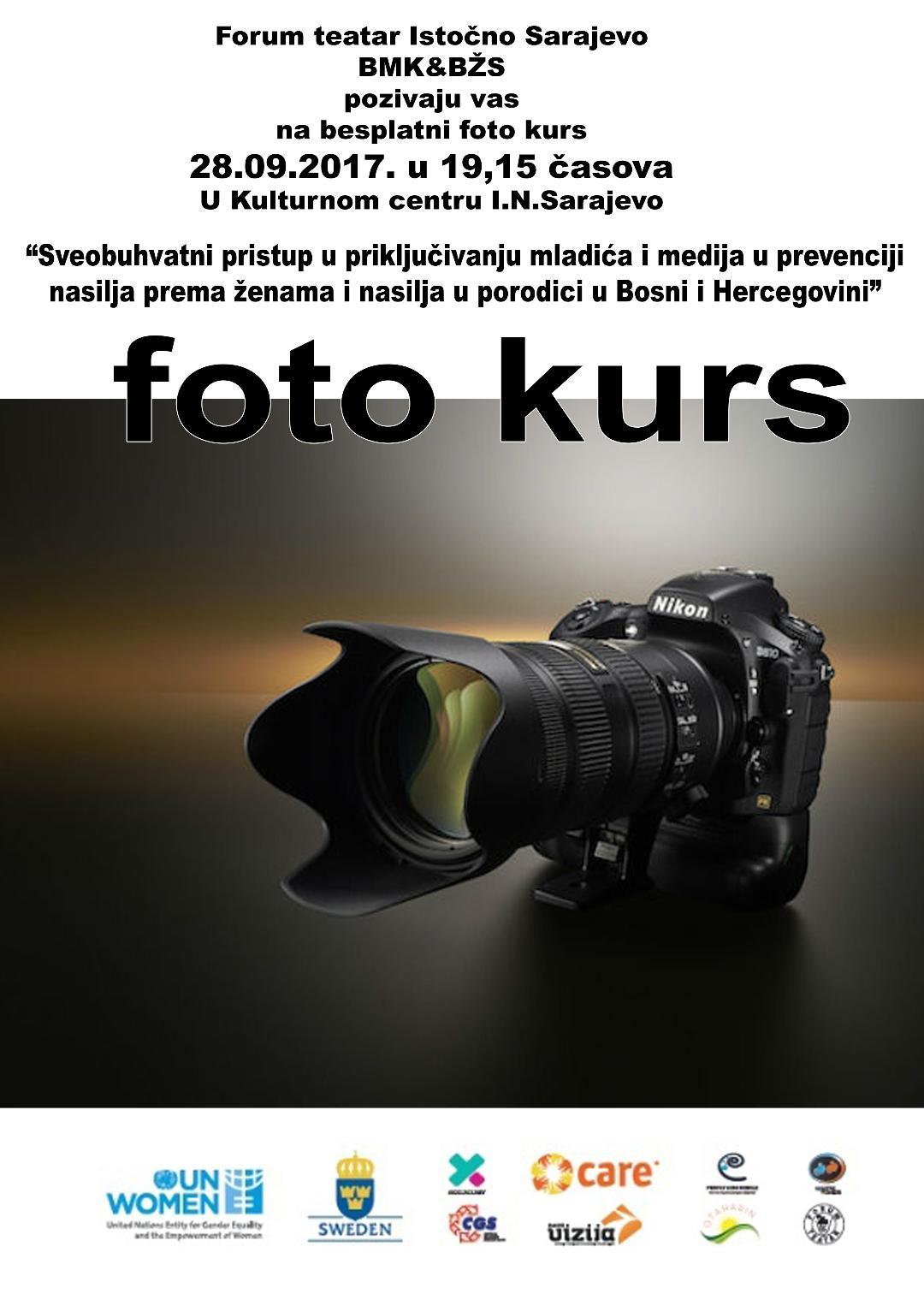 foto kurs poster