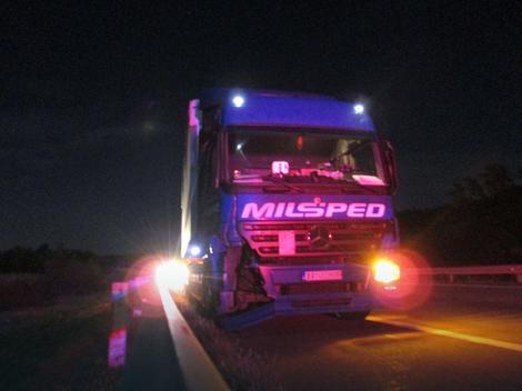 kamion milsped ostecen