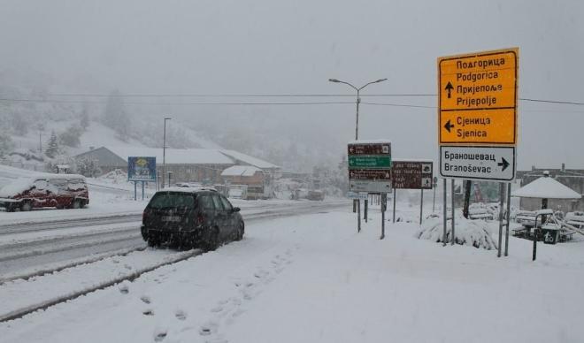 snijeg srbija sjenica