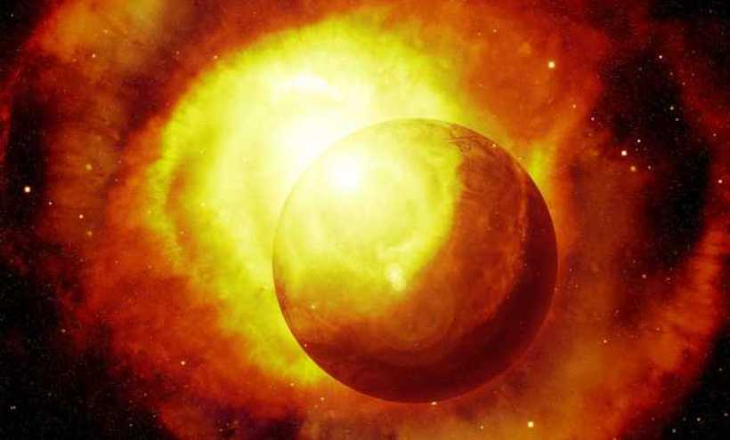 sunce planeta