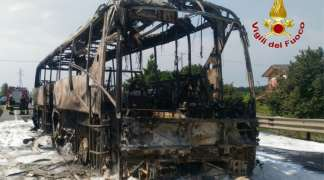 Izgorio autobus koji je odvezao banjalučke đake na ekskurziju