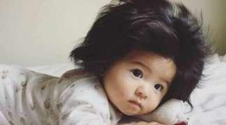 Beba zbog svoje kose postala zvijezda reklama za šampone