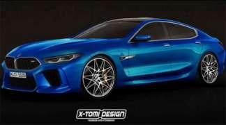 M8 Gran Coupe Concept premijerno predstavljen u Ženevi