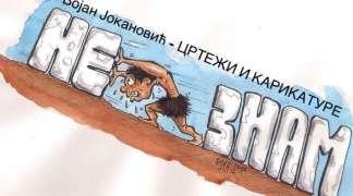 Izložba karikatura Bojana Jokanovića u Istočnom Sarajevu