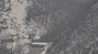 Pukla brana na Miljacki kod Lapišnice