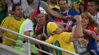 Brazilci pretukli srpsku porodicu na tribinama, policija nije reagovala