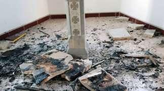Zapalili Jevanđelje i ikone u crkvi u Čekrčićima kod Visokog