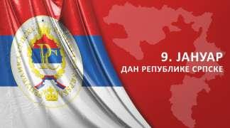 Polaganjem vijenaca zaslužnim za slobodu, Dan Republike obilježen u ratnoj prijestonici