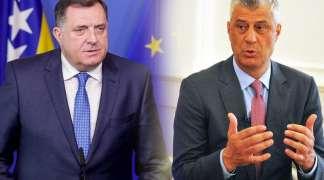 Dodik pozvao Tačija da prisustvuje samitu SEECP-a u Sarajevu i na Jahorini