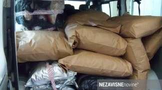 Gatačka policija zaplijenila 240 kilograma ''skanka''