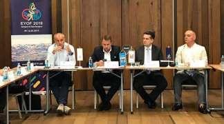 Vuković predsjedavao sjednicom Organizacionog odbora EYOF 2019.