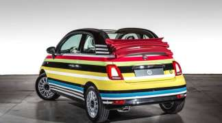 Fiat 500C Missoni edition prodat za 50.000 evra