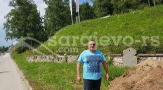 Rekonstrukcija stepeništa na spomen obilježju u Kasindolu