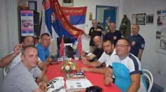 Hodočasnici iz Istočnog Sarajeva u društvu prijatelja vojnih veterana u Srbiji