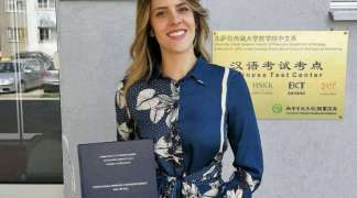 Jelena Vujičić prvi master kineskog jezika u BiH