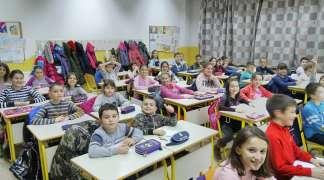 Održani prvi časovi kineskog jezika u OŠ ''Sveti Sava''