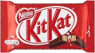 Kit Kat proglašena najboljom čokoladicom na svijetu