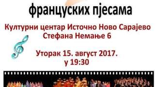 Koncert hora La Tarentelle u Istočnom Sarajevu