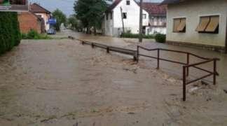Proglašeno vanredno stanje odbrana od poplava u Kostajnici