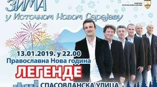 Nastup ''Legendi'' na dočeku pravoslavne Nove godine