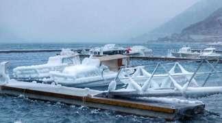 Jadransko more zaledilo duž hrvatske obale