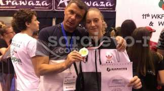 Karatistkinja Slavije Marina Kurteš osvojila zlato na Svjetskoj ligi mladih