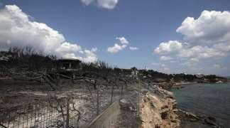 """Vatra """"progutala"""" grčko ljetovalište Mati, stiže pomoć iz EU"""