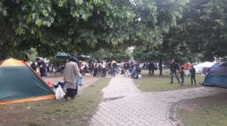 Napeta situacija sa migrantima na ulicama Sarajeva