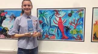 Marija Bojat nagrađena na međunarodnom likovnom konkursu