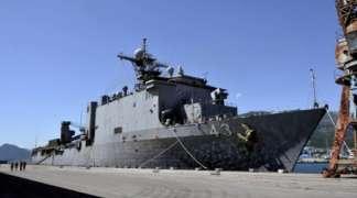 Protesti zbog NATO brodova u luci Bar
