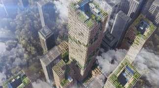 Japanci prave neboder od drveta visok 350 metara