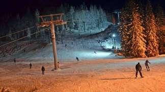 Od sutra noćno skijanje na Poljicama