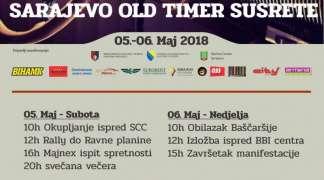 Vožnja ''oldtajmera'' od Sarajeva do Ski centra ''Ravna planina''