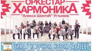 Koncert Orkestra harmonika povodom 9. januara - Dana Republike
