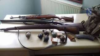 Pronađena veća količina oružja