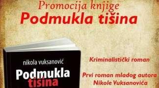 Promocija romana ''Podmukla tišina'' Nikole Vuksanovića u Palama