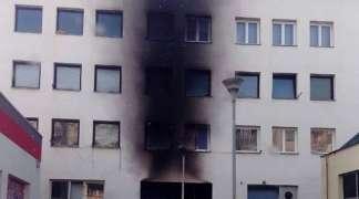 Lokalizovan požar na stambenoj zgradi u Palama