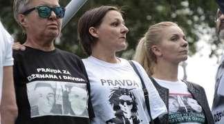 Sa protesta u Sarajevu poručili: Dženan i David su mučki ubijeni!