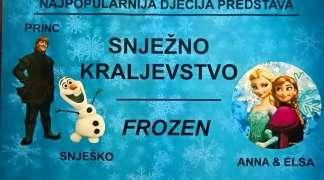 Predstava ''Snježno kraljevstvo'' stiže u Istočno Sarajevo