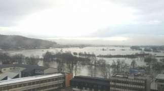 Rijeka Sana se izlila u centru Prijedora