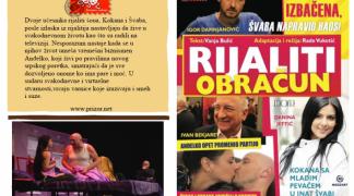 Predstava ''Rijaliti obračun'' pred publikom u Istočnom Novom Sarajevu
