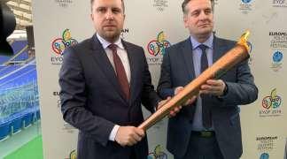 Ceremonija otvaranja EYOF 2019. na koševskom stadionu
