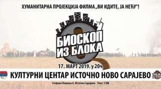 Humanitarna projekcija dokumentarnog filma ''Vi idite, ja neću'' u Istočnom Sarajevu