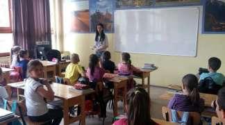 Srednjoškolci se družili sa osnovcima u Mokrom
