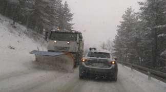 Otežan saobraćaj na planinama, posebno na Han Pogledu