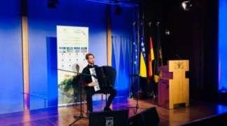 Stefan Ćeha nastupio na manifestaciji ''Dunavski salon 2018'' u Berlinu