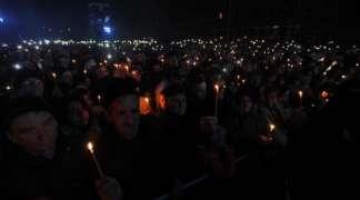 Sirene u Aleksincu - sjećanje na žrtve bombardovanja (FOTO)